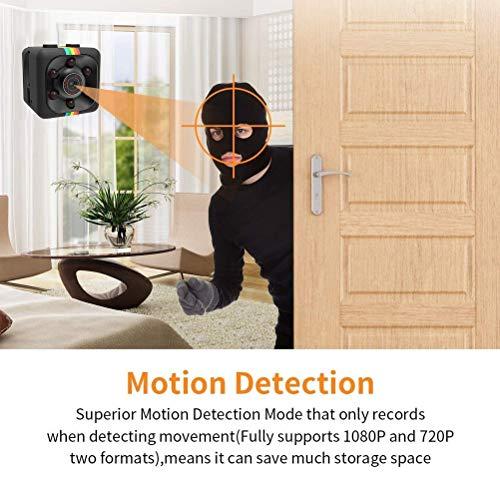 Mini Spy Camera 1080P Multifunktionale Mini Hidden Spy Camera Kleine Nanny-Kamera für Amilien, Kinderzimmer, Büros, Geschäfte