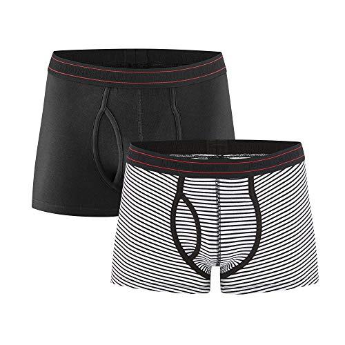 Living Crafts Pants, 2er-Pack S, Black/Natural