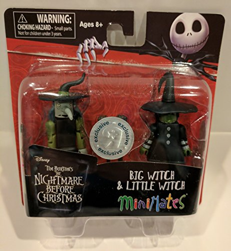 Minimates Nightmare Before Christmas Big & Little Witch Exclusive Minifigures
