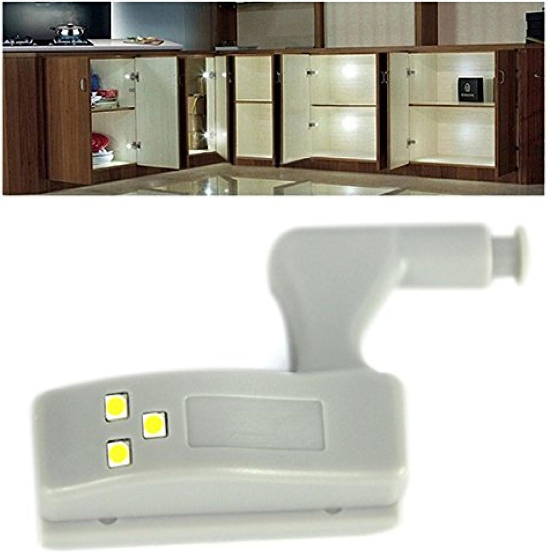QIZIANG 1X 3X 5X 10X Batteriebetriebene Scharnier LED Nachtlicht für Küche Schlafzimmer Schrank Schrank Hot (Farbe   10pcs Warm Weiß) B07L2761JJ |  Neuer Markt