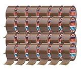 tesa - Cinta adhesiva para embalar (66 m x 50 mm, 24 rollos), color marrón