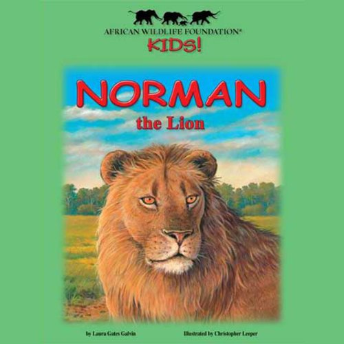 Norman the Lion audiobook cover art