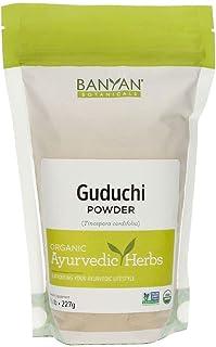 Sponsored Ad - Banyan Botanicals Guduchi Stem Powder - USDA Organic, 1/2 Pound - Rejuvenating Herb for Digestion, Complexi...