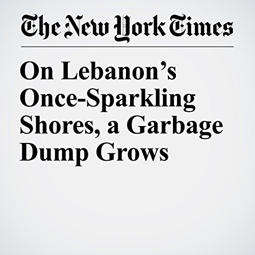 On Lebanon's Once-Sparkling Shores, a Garbage Dump Grows copertina