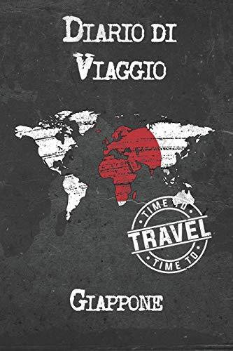 Diario di Viaggio Giappone: 6x9 Diario di viaggio I Taccuino con liste di controllo da compilare I Un regalo perfetto per il tuo viaggio in Giappone e per ogni viaggiatore