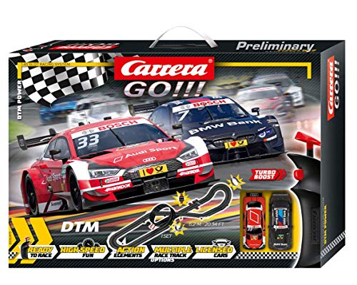 Carrera GO!!! DTM Power 20062479 Autorennbahn Set