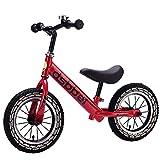 Bicicleta de Equilibrio para Niños de 2 a 6 Años, Bicicleta de Balance de Niños Y Niñas de 12 Pulgadas, Bicicleta Liviana para Niños, Bicicleta para Caminar Ajustable en Altura/B / 12inch