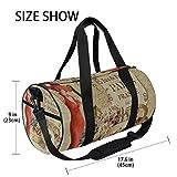 Zoom IMG-1 zomoy barrel bag poster vintage