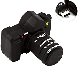 Aneew 64GB Black Pendrive Camera 3D Shape USB Flash Drive Memory Thumb