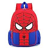 Mochila Spiderman Mochilas Infantiles Bolsa Escuela Mochila para Niños de Libro de Jardín de Infantes Ajustables Mochila de Libro de Niñas de Escuela Primaria