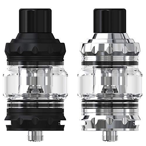 Eleaf Melo 5 Tank Clearomizer 2 ml/4 ml, Durchmesser 28 mm, Verdampfer für e-Zigarette, schwarz
