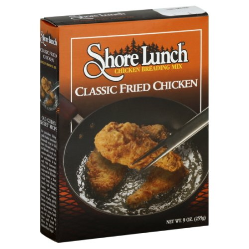 Shore Lunch Breading Mix Classic Fried Chicken, 9-Ounce (Pack of 6)