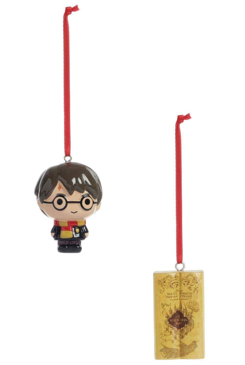 Primark Harry Potter Oficial Adornos de Navidad Harry y Mapa del Merodeador: Amazon.es: Hogar