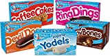 Drake's Variety Pack, Coffee Cakes, Devil Dogs, Alpine Yodels, Ring...