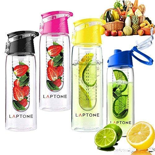 Laptone Bouteille Eco-friendly fruits infusion BPA-Free Bouteille 0,8 L