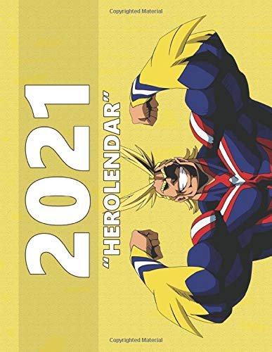 My Hero Academia Monthly Colorful Anime Calendar, Pictures, Quotes