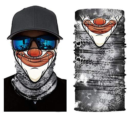 KGDUYH Beau Foulard Multifonctionnel - Masque de Ski et Snowboard for Bandeau, randonnée pédestre, Courir, Camping Sports de Plein air pour Les Femmes, Les Hommes (Color : A, Size : 25x50cm)