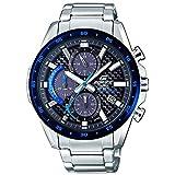 【セット商品】[カシオ]CASIO エディフィス EDIFICE ソーラー クロノグラフ クオーツ メンズ 腕時計 EQS-900DB-2AVUDF メンズ 腕時計&マイクロファイバークロス 13×13cm付き [逆輸入品]