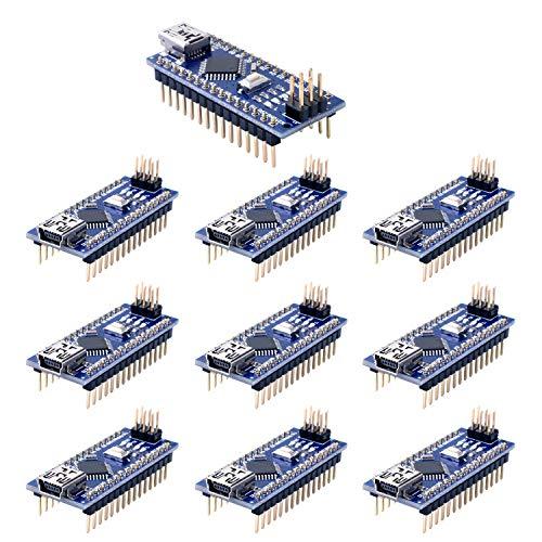 Longruner para ArduinoIDE Nano V3.0 ATmega328P 5 V 16 M Micro controlador Junta módulo KY64-10