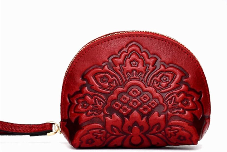LJYkatins LJYkatins LJYkatins Retro-Damengeldbörse im Ethno-Stil aus Leder mit Reißverschluss B07M5TC5CW 4dd31d