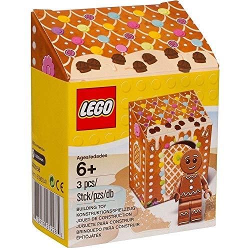 LEGO Exclusive Gingerbread Man Minifig [5005156 - 3 Pieces]