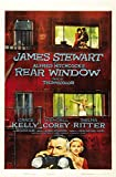 Rear Window, Alfred Hitchcock Movie ,Film Poster,Plakat
