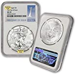 2015 - Present (Random Year) Silver American Eagle MS-70 (First Day of Issue) by CoinFolio $1 MS70 NGC