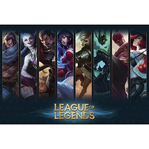 Póster League of Legends - Champions (91,5cm x 61cm)