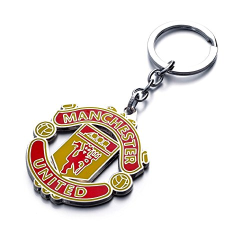 Official Soccer Team Football Club Manchester United Metal Keychain, Keyring, Pendant