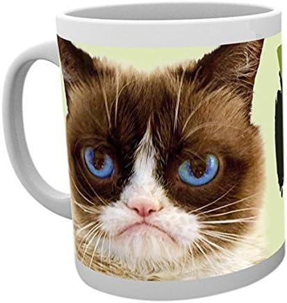 GB eye LTD Grumpy Cat NOLO Mug Wood Various 15x10x9 cm product image