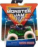 Monster Jam Original Monster Jam Truck mit Zubehör im Maßstab 1:64 (Sortierung mit verschiedenen Designs, Zufallsauswahl) -