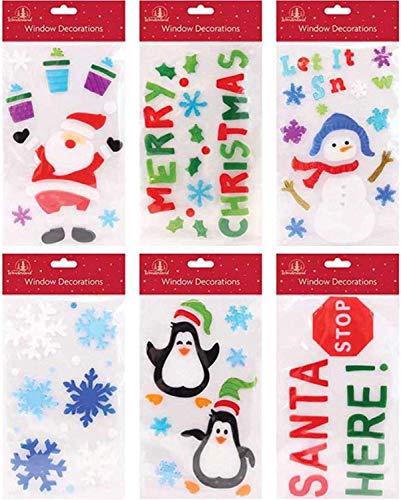 Pegatina Gel Navidad Marca Wonderland