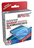 HIPROTEC diamant basiertes Glasbruchschutz Gel, Schutz gegen Display Glasbruch, antibakterieller Displayschutz für alle Smartphones wie iPhone, Samsung, Huawai, LG, HTC