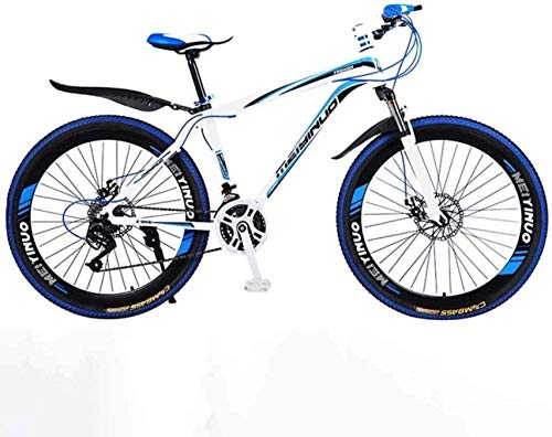 PARTAS Travel Convenience Commute - 26In 24-Speed Mountain Bike for Adult, Lightweight Aluminum Alloy Full Frame, Wheel Front Suspension Mens Bicycle,Suitable for Advanced Riders and Beginners