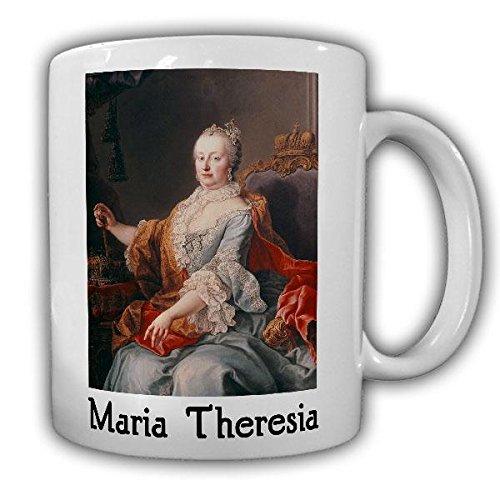 Tasse Maria Theresa von Österreich Königin Wien Gemälde Bild Foto Becher #21796