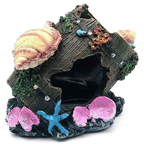 Carry stone Résines décoratives Réservoir de Poissons Aquarium Breeze Cachette Cachette Décorations de réservoirs souterrains
