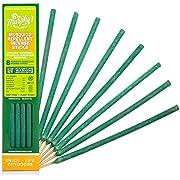 De Murphy Naturals Anti-moustiques Bâtons d'encens–Infusé en Bambou avec citronnelle, Citronnelle et de romarin 8-Pack Carton Vert