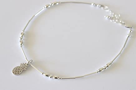 33ae5a66a Amazon.com: Sterling Silver - Anklets / Body Jewelry: Handmade Products