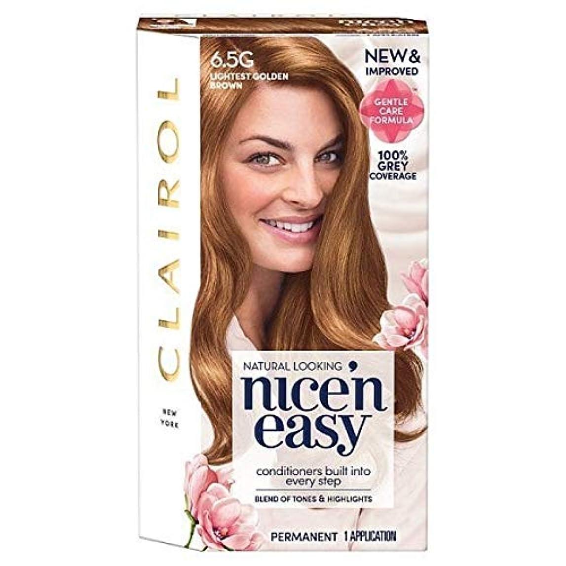 衝突するおとうさん今後[Nice'n Easy] Nice'N簡単に6.5グラム軽いゴールデンブラウン - Nice'n Easy 6.5G Lightest Golden Brown [並行輸入品]