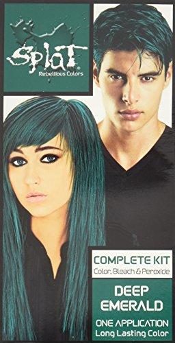 Splat Deep Emerald Langanhaltende Haartönung Set (Grün)
