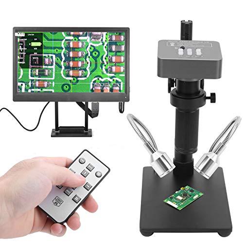 Digitale Mikroskopkamera, 1080P HD Elektronisches C‑Mount-Mikroskopobjektiv für Schmuck für Mikroelektronik zum Schweißen von Telefonplatinen(Transl)