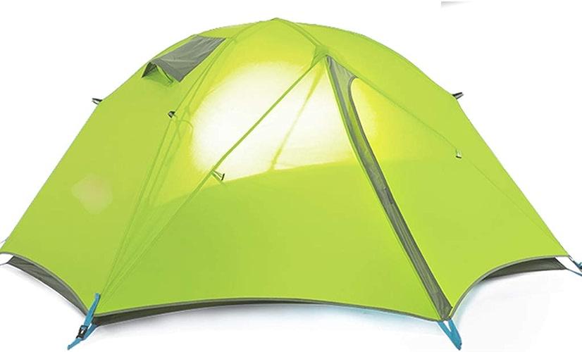 YaNanHome Tente Tente extérieure Double Tente Anti-Pluie 2 Personnes Tente de Camping Tente de randonnée (Couleur   vert, Taille   205  160  107cm)