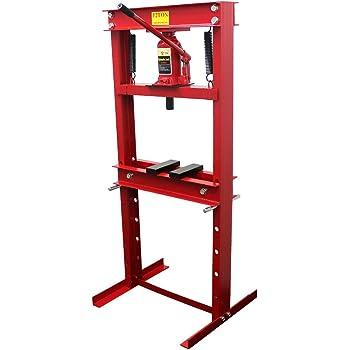 WEIMALL 12t 門型油圧プレス機 ショッププレス 赤