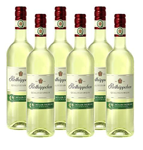 Rotkäppchen Qualitätswein Müller-Thurgau halbtrocken 6er Pack (6 x 0.75 l)