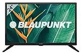 Blaupunkt LED HD TV, 61 cm (23, 6 Zoll) 720p, DVB-T/T2/C/S2, H.265 und USB Multimedia, BN24H1032EEB