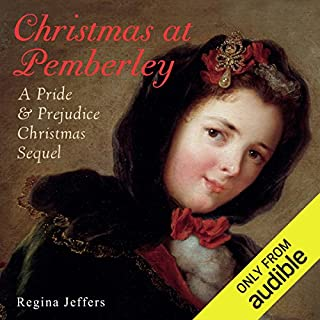 Christmas at Pemberley audiobook cover art