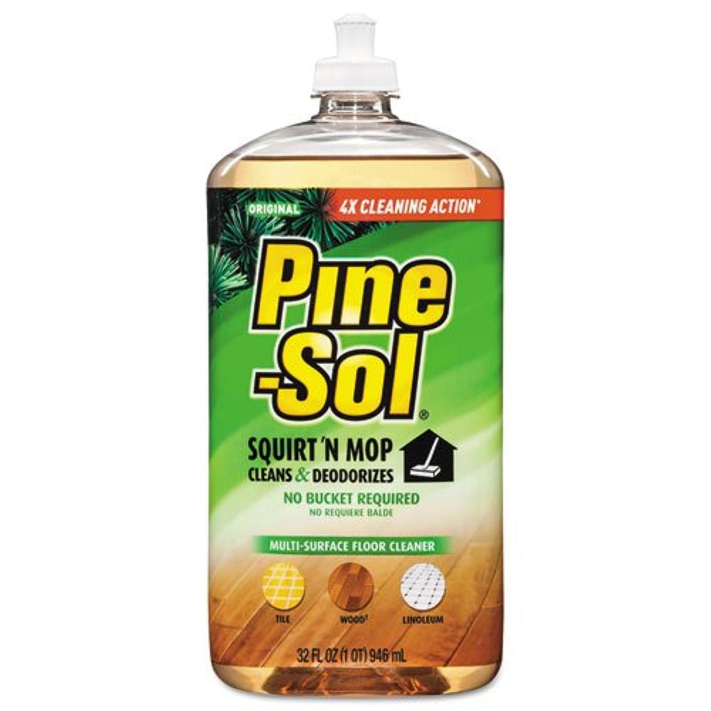 Squirt 'n Mop Multi-Surface Floor Cleaner, 32 oz Bottle, Pine Scent