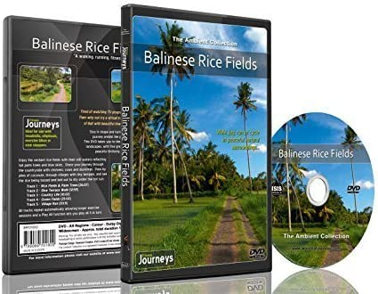 Fitness Journeys Balinese Rice Fields for indoor walking treadmill and cycling workouts product image