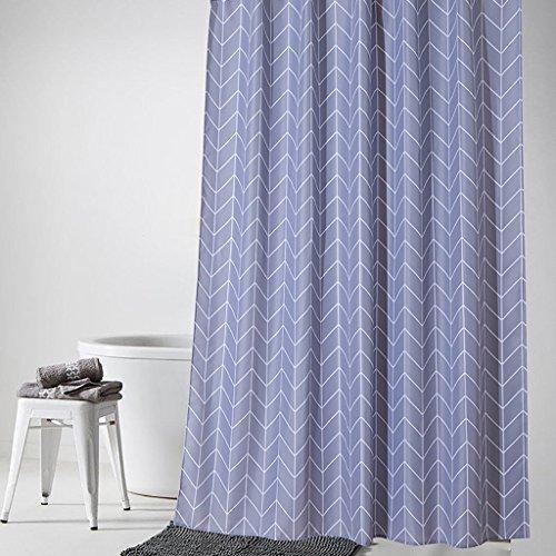 Rideaux de douche Rideau de douche imperméable à l'eau moisissure rideau de douche salle de bains chaude partitionnement rideau Rideaux de douche de haute qualité (taille : 100*180cm)
