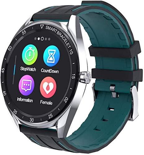 AMBM Smart Watch 1 3 pulgadas pantalla táctil de alta definición precisa paso contando impermeable Multi-Sports Recordatorio de llamada pulsera deportiva para Android e iOS Moda/rosa/gris plateado